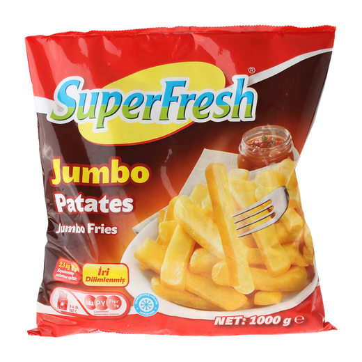 Superfresh Patates Jumbo 1 kg