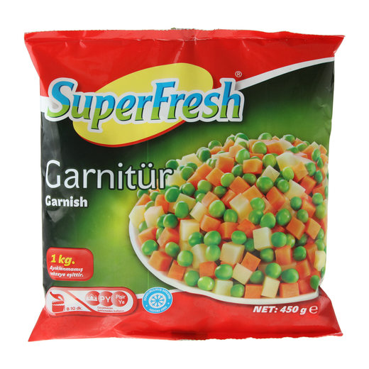 Superfresh Patatesli Garnitür 450 gr