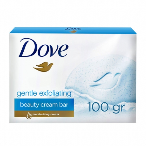 Dove Gentle Exfoliating Cream Bar Sabun 100 gr