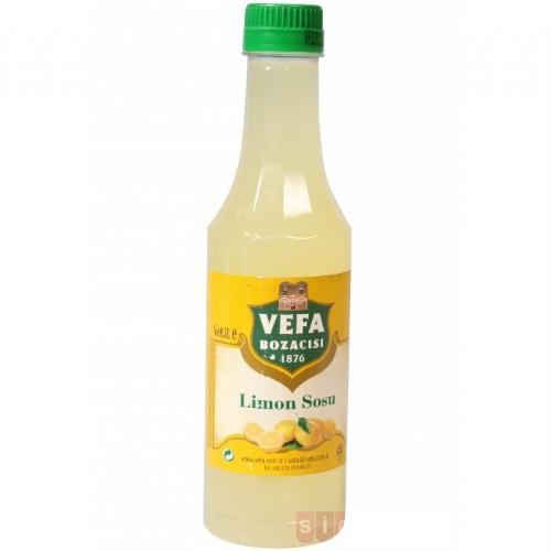 VEFA LIMON SOSU PET 500 ML